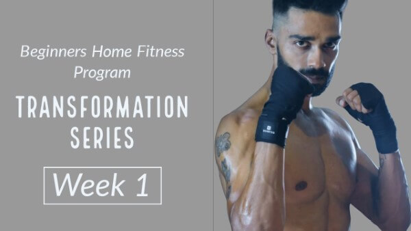 Home Transformation Body Workout for Beginners - Week One
