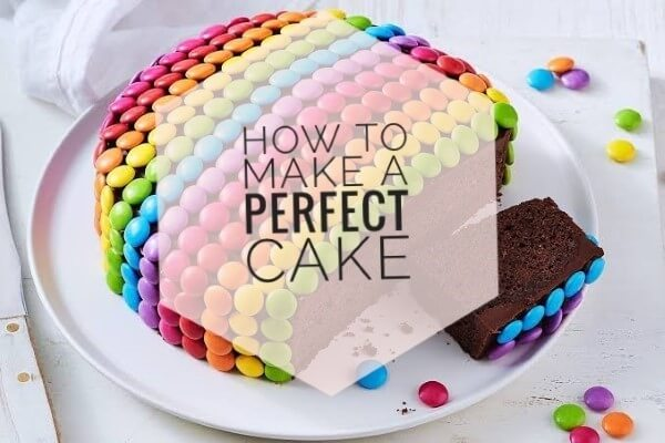 How to bake a simple perfect cake for beginners