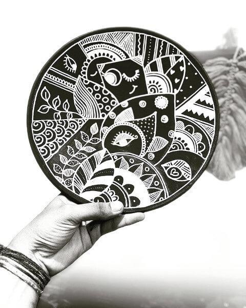 Learn Doodle Art on Earthenware