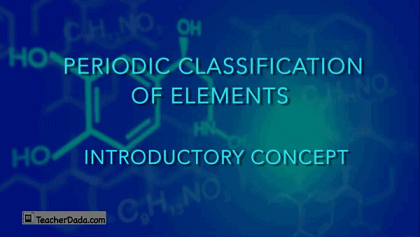 CBSE Science : Periodic Table for Class 10 online Training
