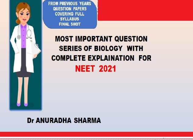 Preparatory course  for NEET 2021