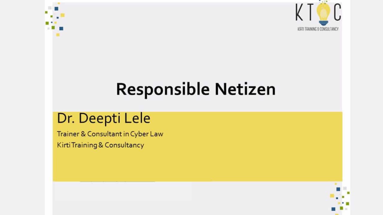 Responsible Netizen