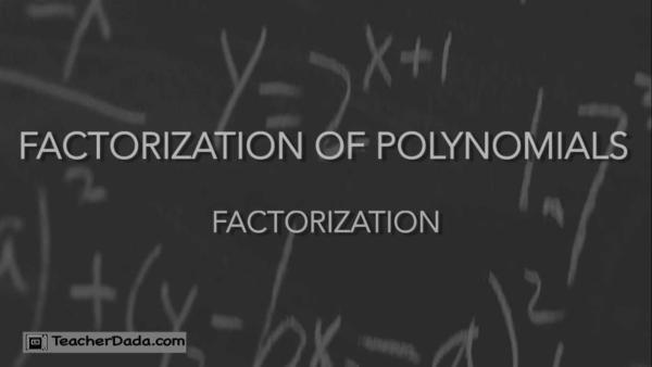 CBSE Maths Class 9: Factorisation of Polynomials