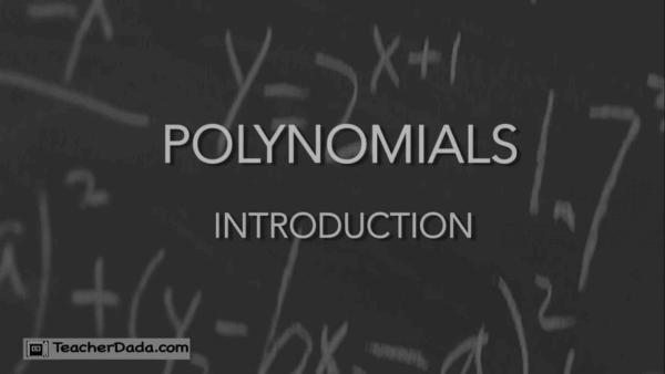 Polynomials CBSE Maths for Class 10