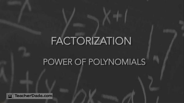 Polynomials ICSE Class 9 Maths
